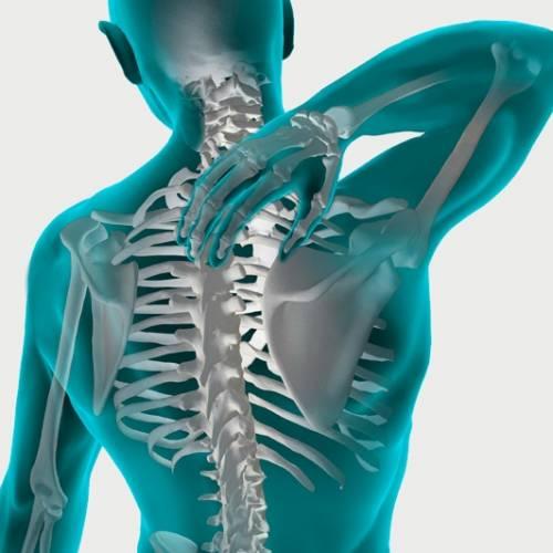 El osteopata me quita el dolor de espalda trabajandome otra zona